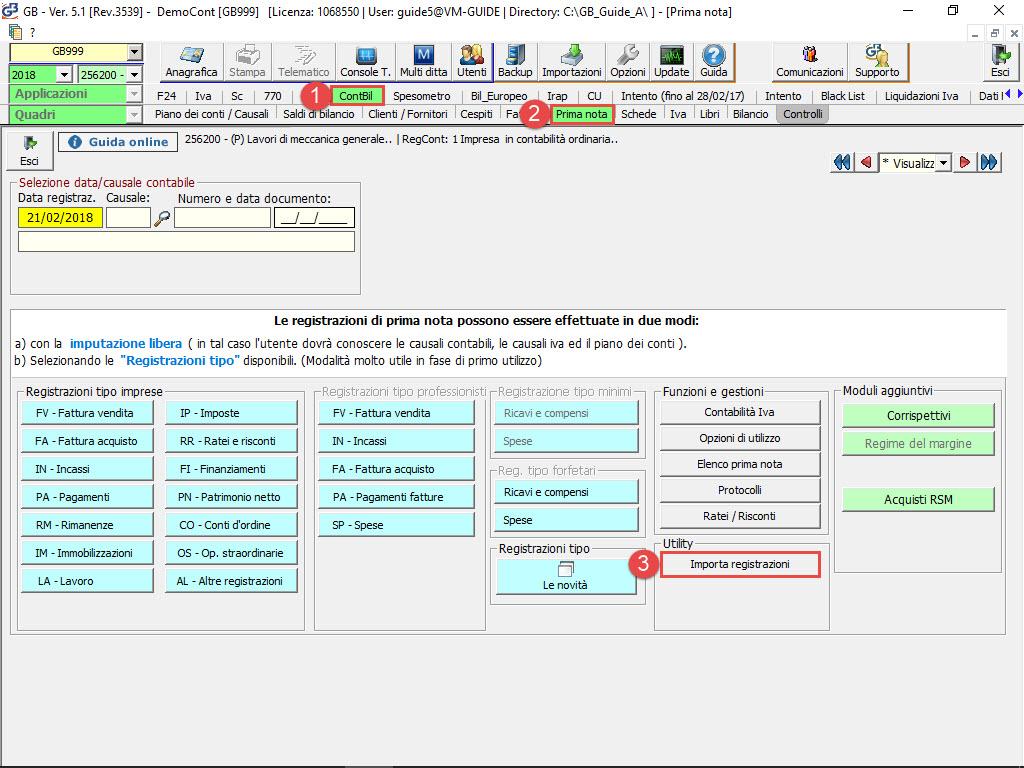 Importazione Prima Nota da file XML: rilascio utility - 2
