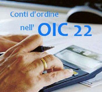 OIC 22: Conti d'ordine in Bilancio e in Nota Integrativa