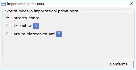 Importazione Prima Nota da file XML: rilascio utility - 3