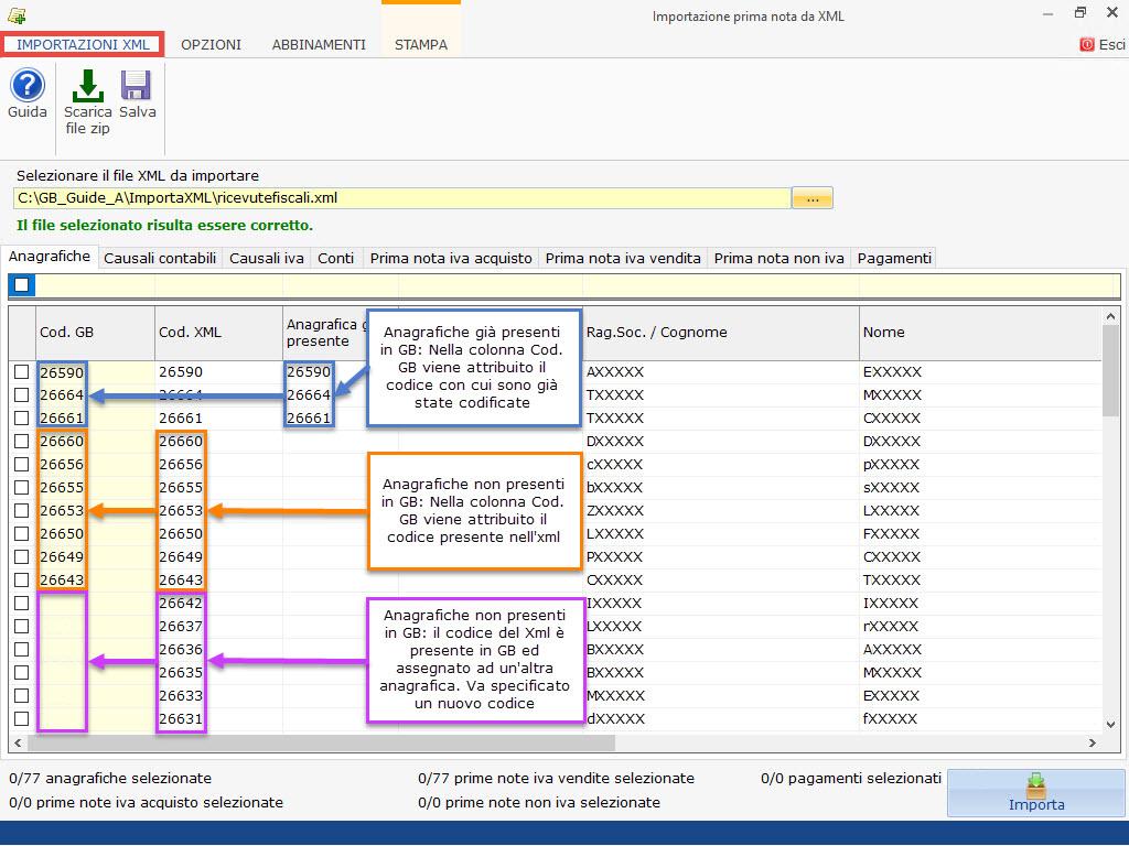 Importazione Prima Nota da file XML: rilascio utility - 4