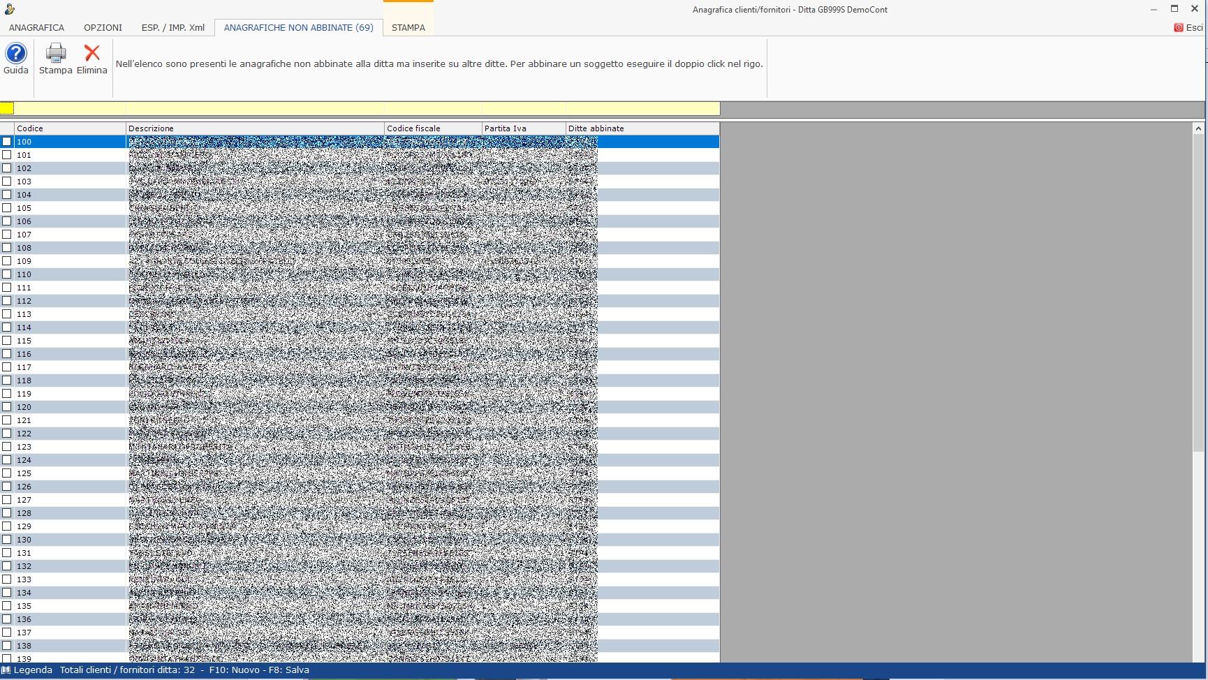 Anagrafica clienti - fornitori: abbinamento nominativo già utilizzato in altre ditte - 1