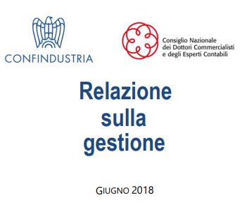 Bilancio 2019: Relazione sulla gestione aggiornata da Confindustria e CNDCEC - 1