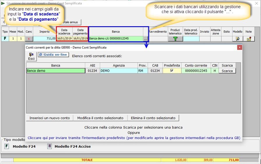 F24 2019: creazione, controllo e invio file telematico - 1