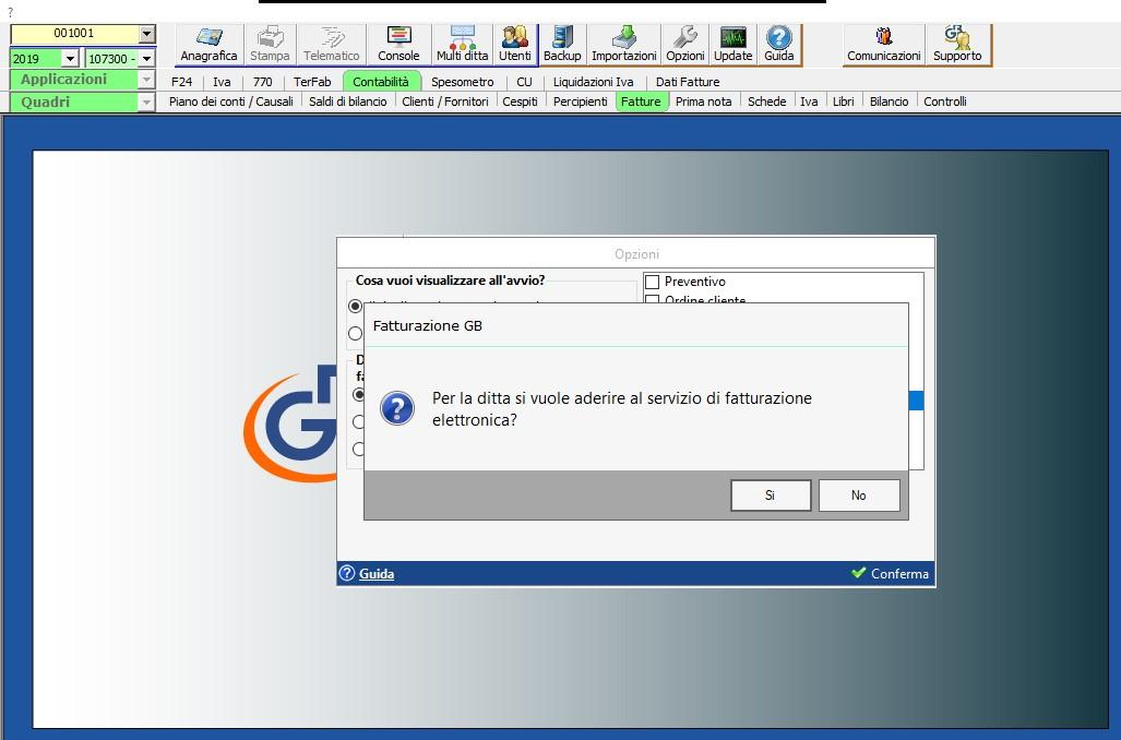 Fatturazione Elettronica: gestione ciclo attivo con GB (versione locale) - 1