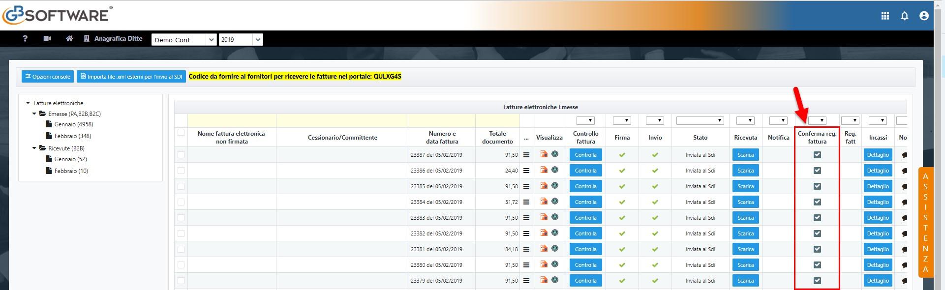 Fatturazione Elettronica: conferma e registrazione fatture cliente - 1