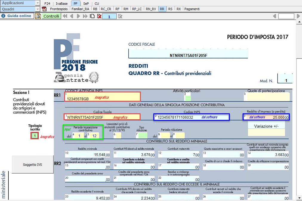 Gestione IVS 2018: artigiani e commercianti - 1