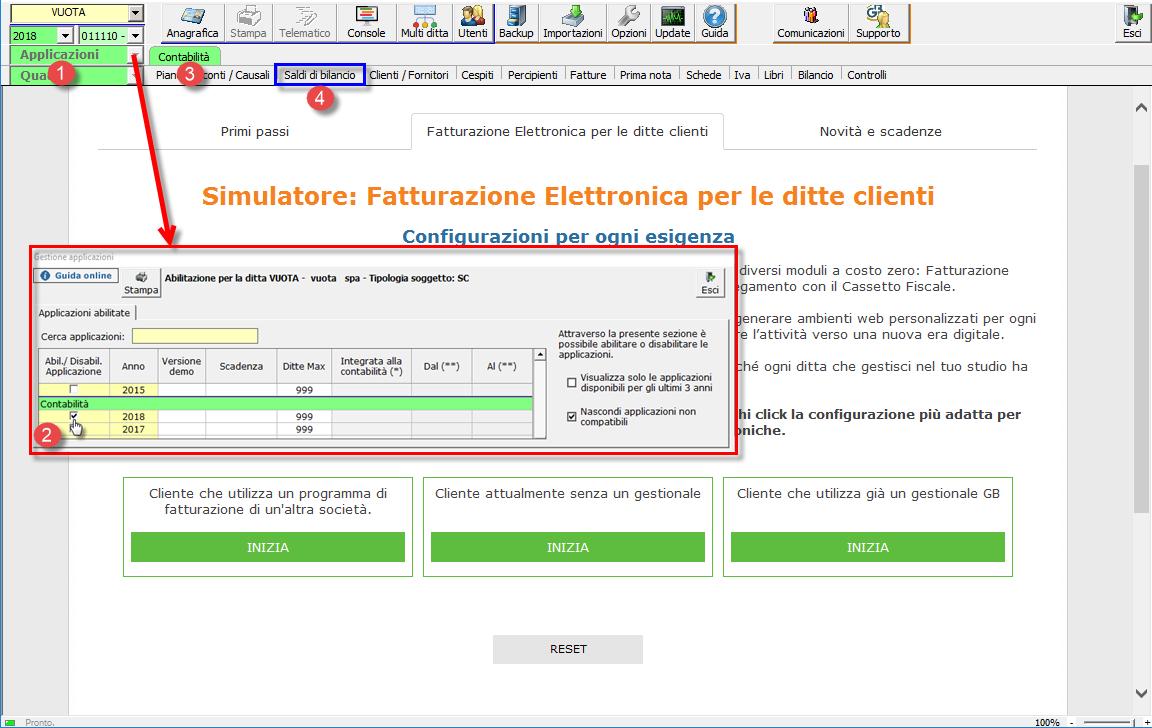 Import Saldi di Bilancio da Excel: nuove funzioni - 1