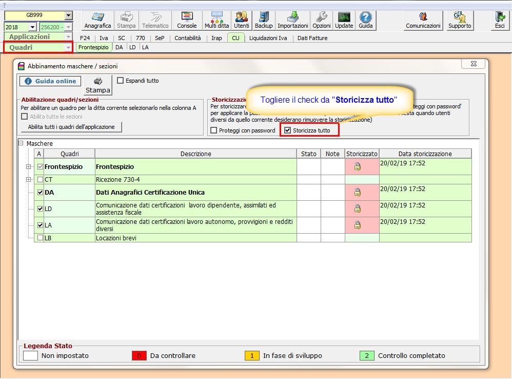 Caso pratico: nuovo file telematico con CU non trasmessa nel primo invio - 1