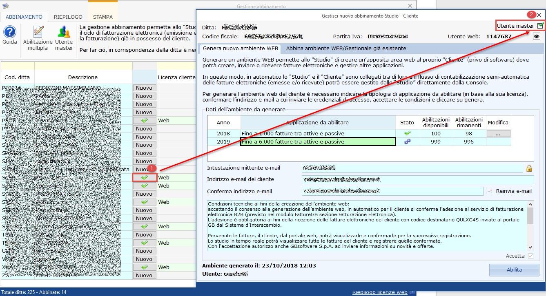 Utente master: unico accesso per lo studio agli ambienti web dei clienti - Check Utente master