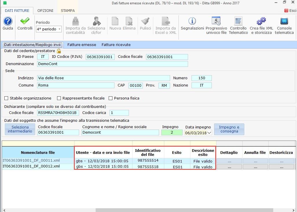 Nuovo Spesometro light 2017: creazione file xml e invio - 10