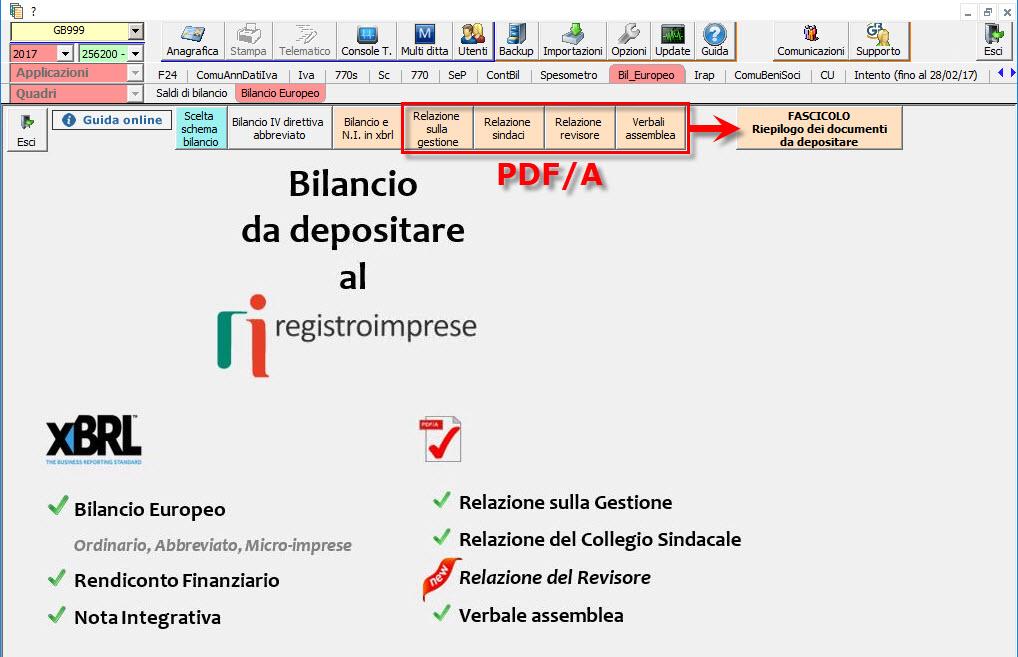 Nota Integrativa 2018: passaggi per redazione Bilancio Europeo - 10