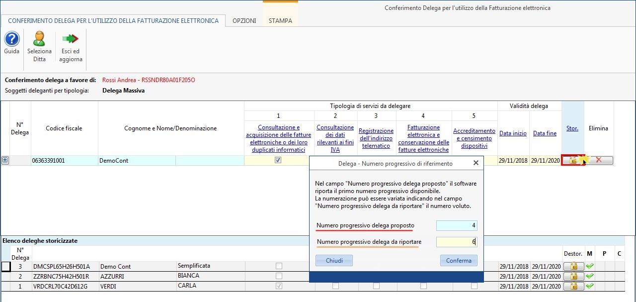 Software Conferimento Delega Fatturazione Elettronica - 10