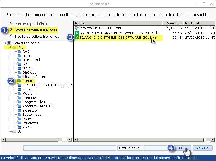 Caso pratico: Utente cloud ed importazione da bilancio XBRL ed Excel esterni - 10