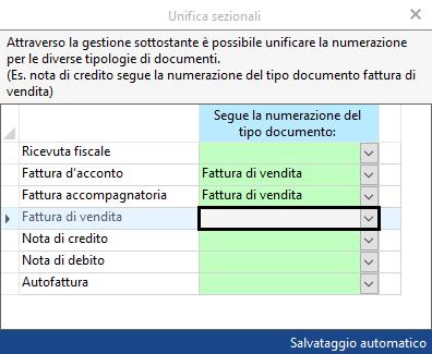 Fatturazione Elettronica: sezionali dei documenti - 11