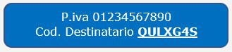 Ricezione delle Fatture Elettroniche per conto dei Clienti: Registrazione Indirizzo Telematico e QR Code - 11