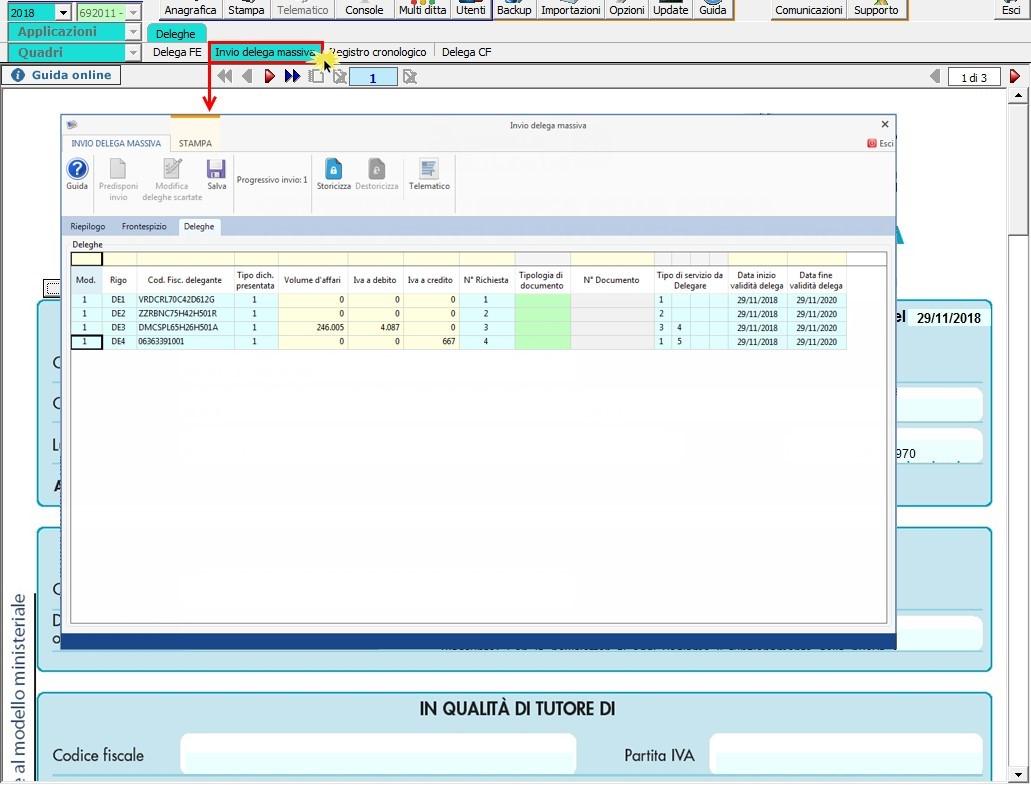 Software Invio massivo deleghe fatturazione elettronica - 11