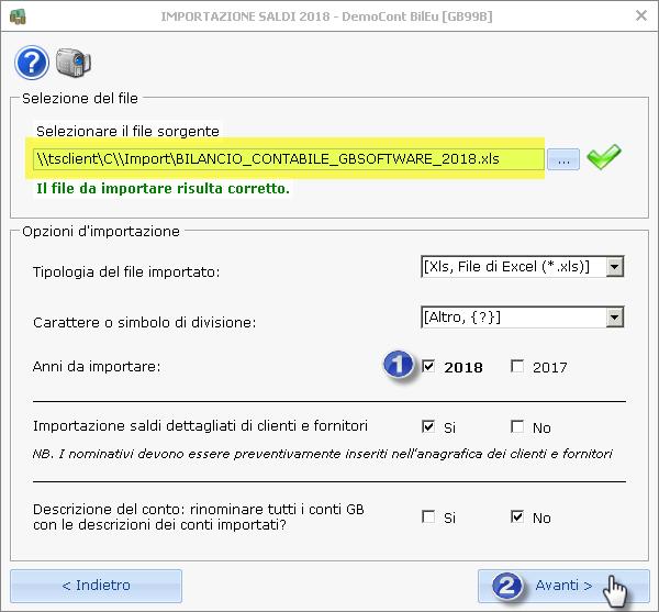 Caso pratico: Utente cloud ed importazione da bilancio XBRL ed Excel esterni - 11