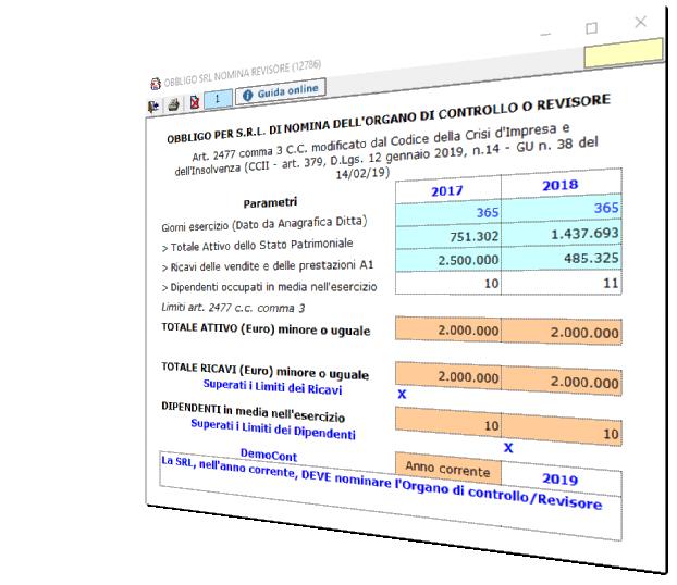 Bilancio 2019: corretto flusso fino alla Nota Integrativa - 12