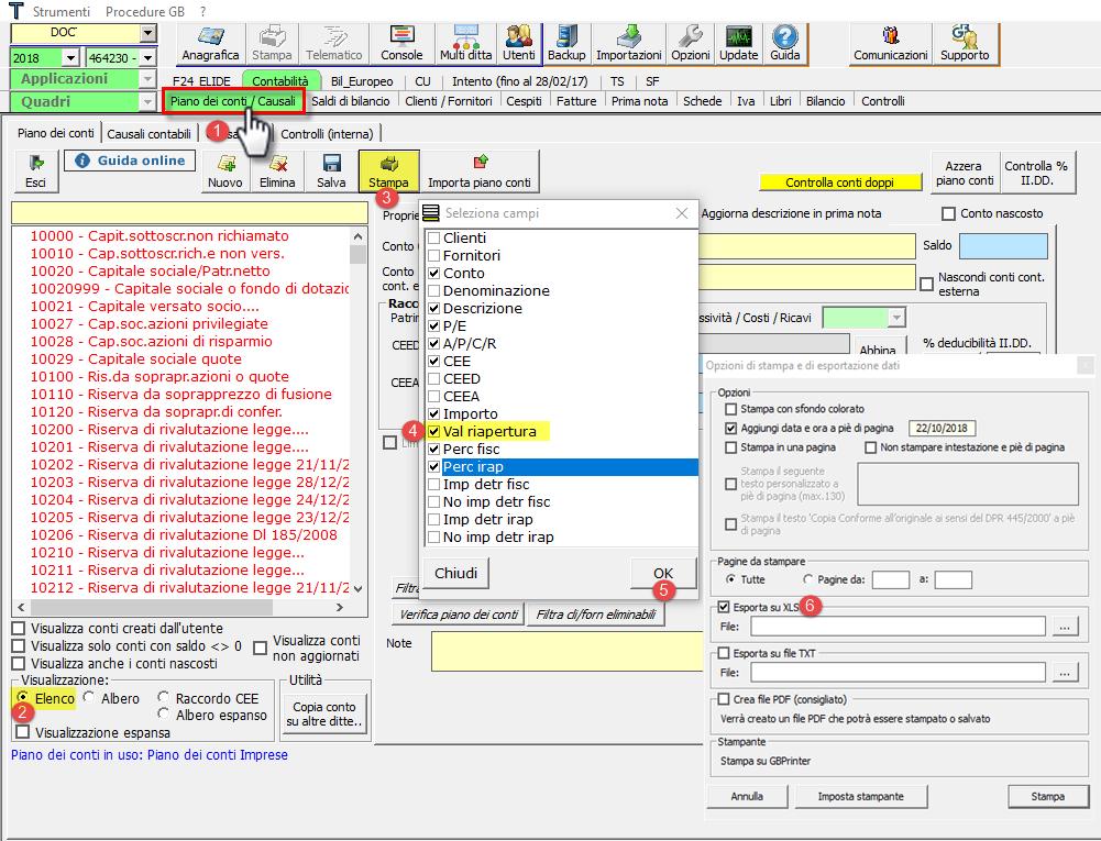 Import Saldi di Bilancio da Excel: nuove funzioni - 12