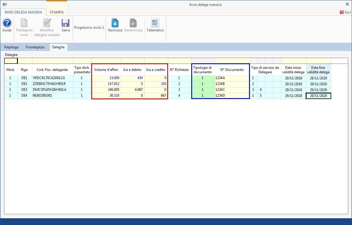 Software Invio massivo deleghe fatturazione elettronica - 12