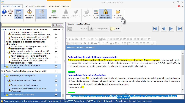 Bilanci Tardivi 2009-2014: disponibile applicazione - 13