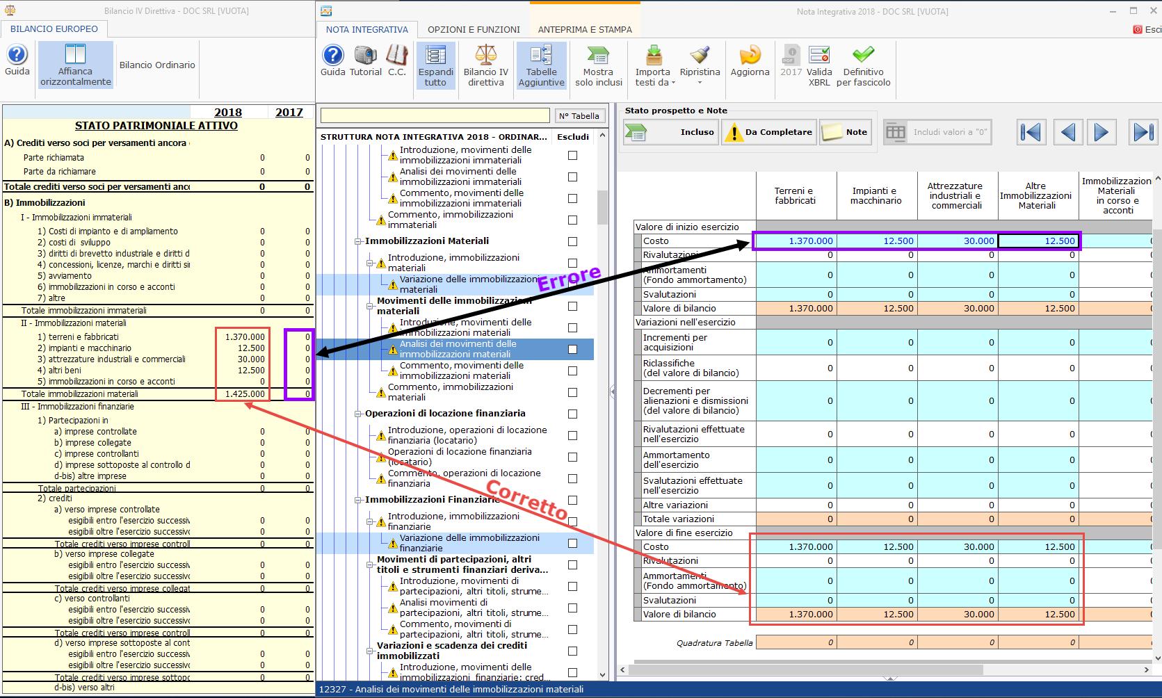 Bilancio XBRL: errori di validazione più frequenti - 13