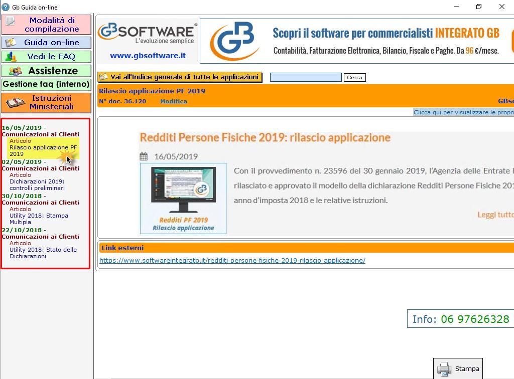 Help e utility a supporto dei clienti GB - 13