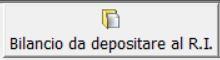 Bilancio da depositare al Registro Imprese