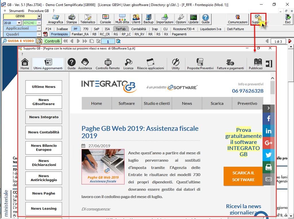 Help e utility a supporto dei clienti GB - 14