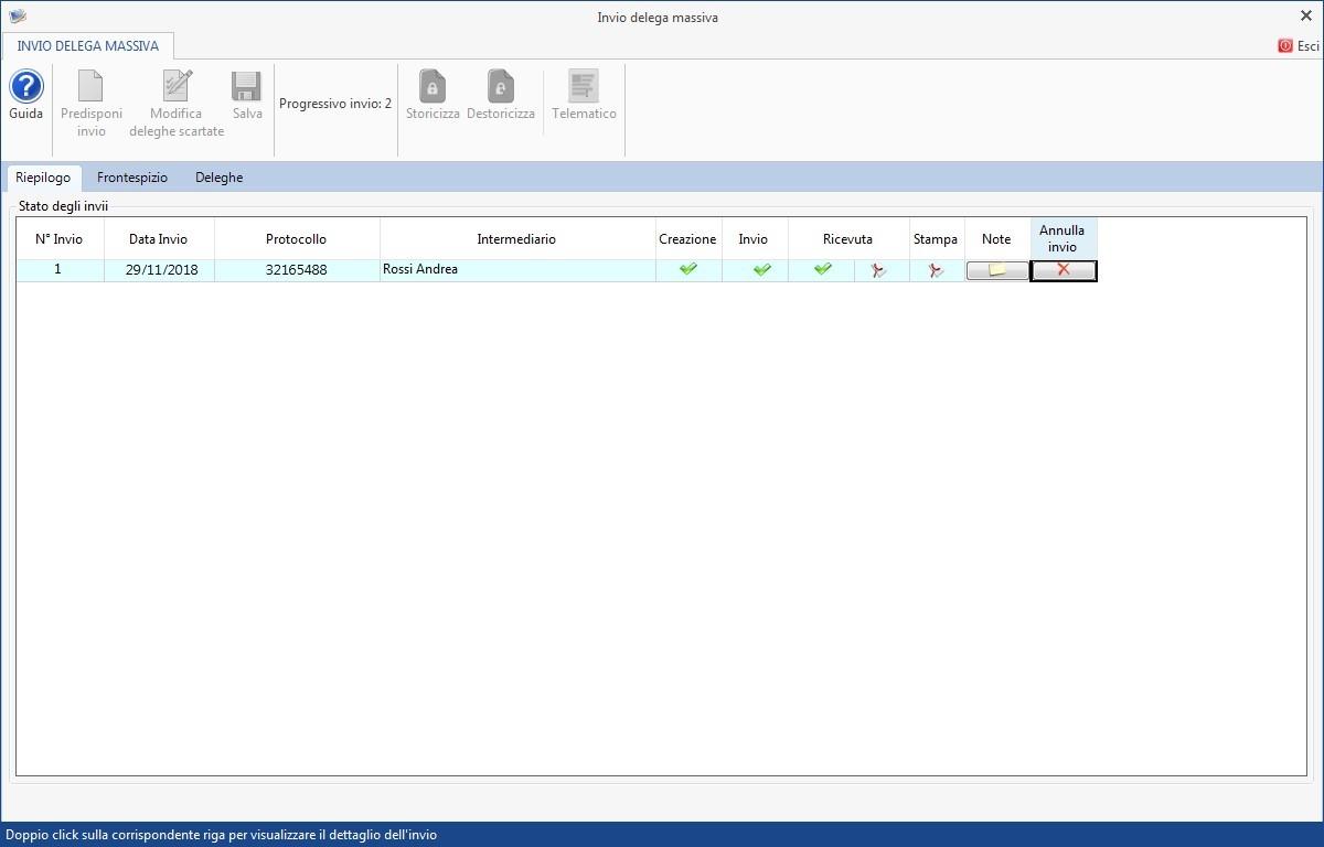 Software Invio massivo deleghe fatturazione elettronica - 14