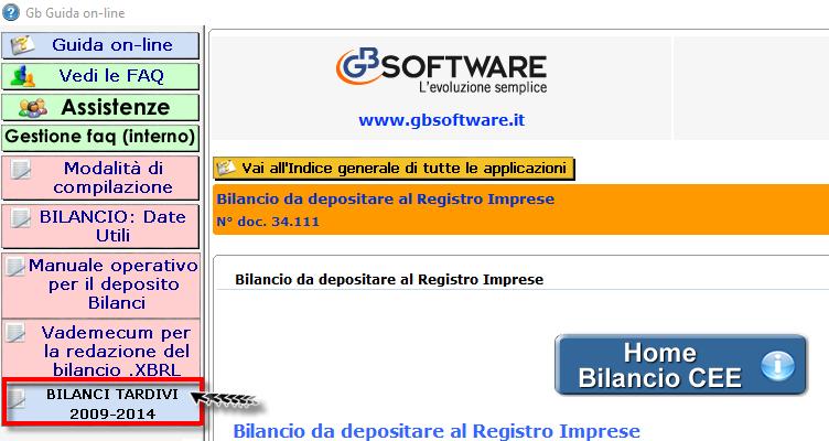 Bilanci Tardivi 2009-2014: disponibile applicazione - 15