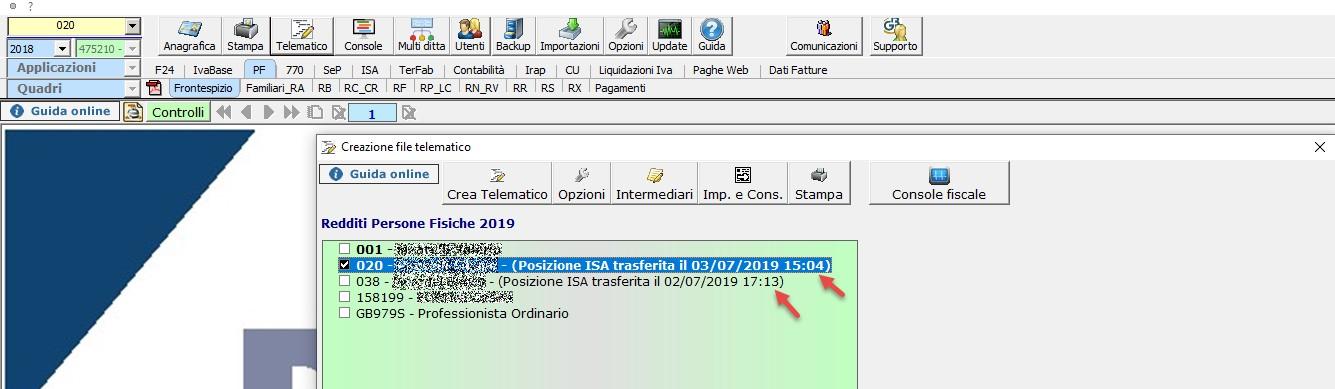 ISA 2019: modalità operative - 15