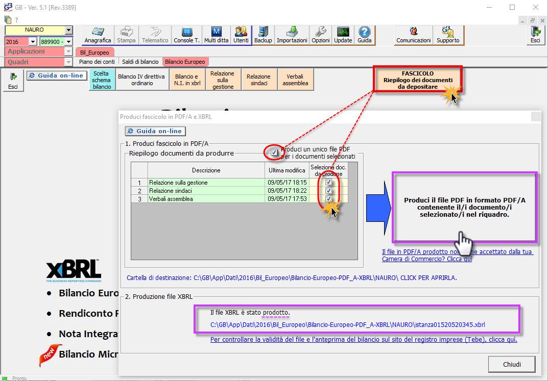 Produzione PDF/A