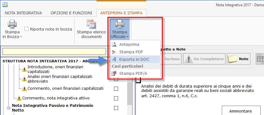Caso Pratico: Aggiungere grafici ed immagini al bilancio da inviare ai clienti - 2