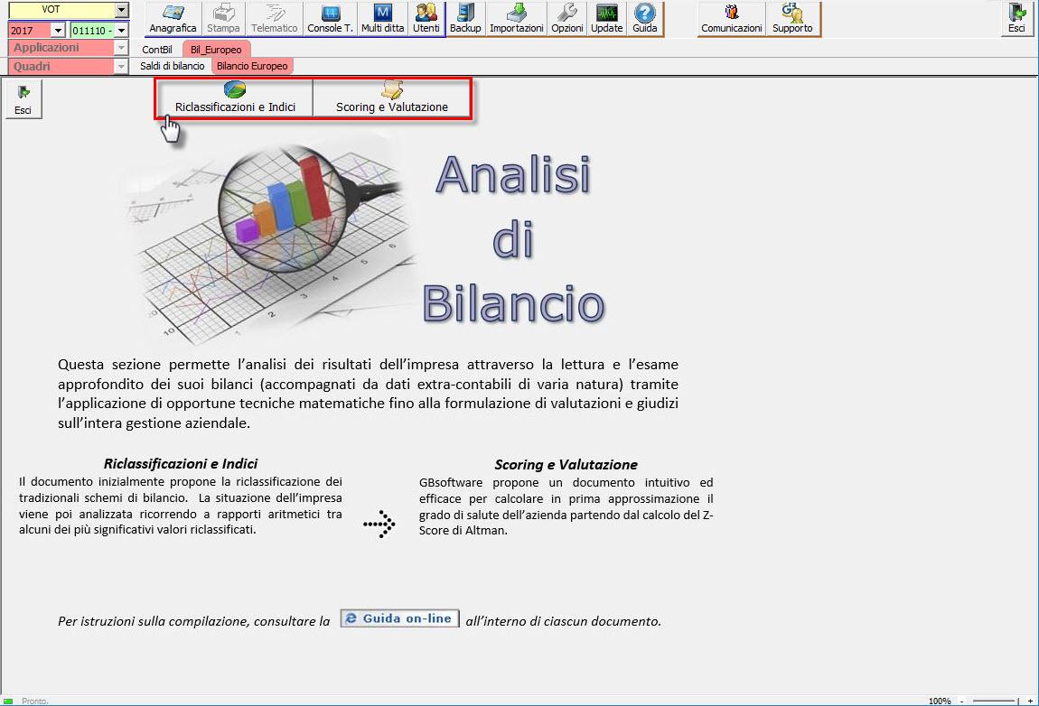 Analisi di Bilancio GB: disponibile l'applicazione - 2
