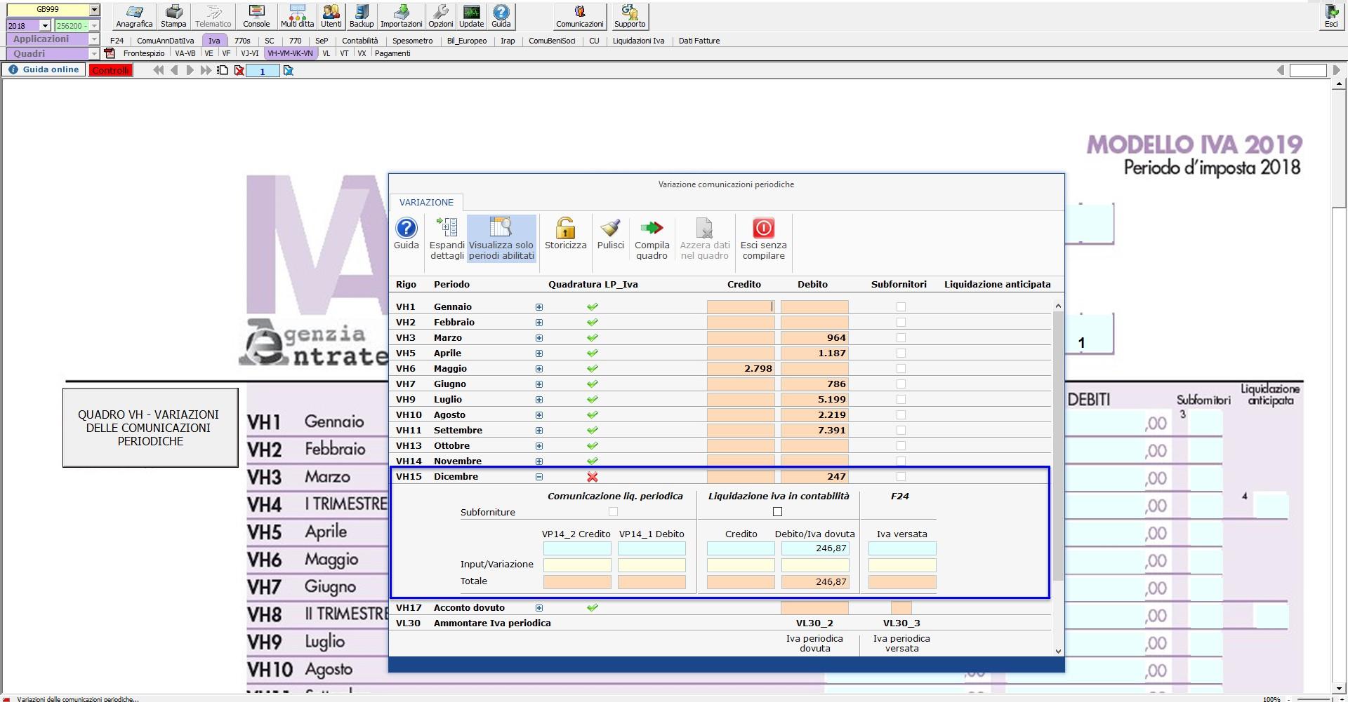 Caso pratico: Comunicazione Liquidazioni Periodiche oltre il termine di presentazione della Dichiarazione IVA - 2