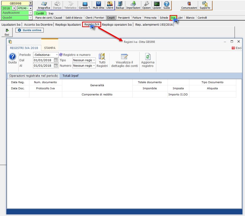 Contabilità Semplificata: Registri IVA senza separata indicazione incassi e pagamenti - 2