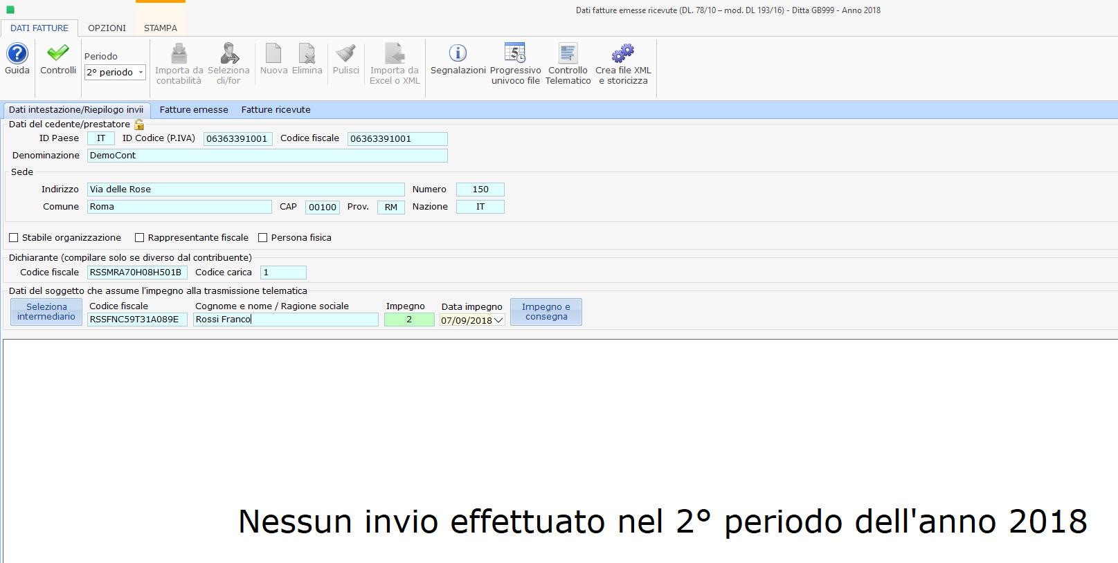 Dati Fatture 2018 (Nuovo Spesometro): calendario scadenze per l'invio - 2