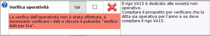 Dichiarazione IVA 2019: Società di comodo e Verifica Operatività - 2