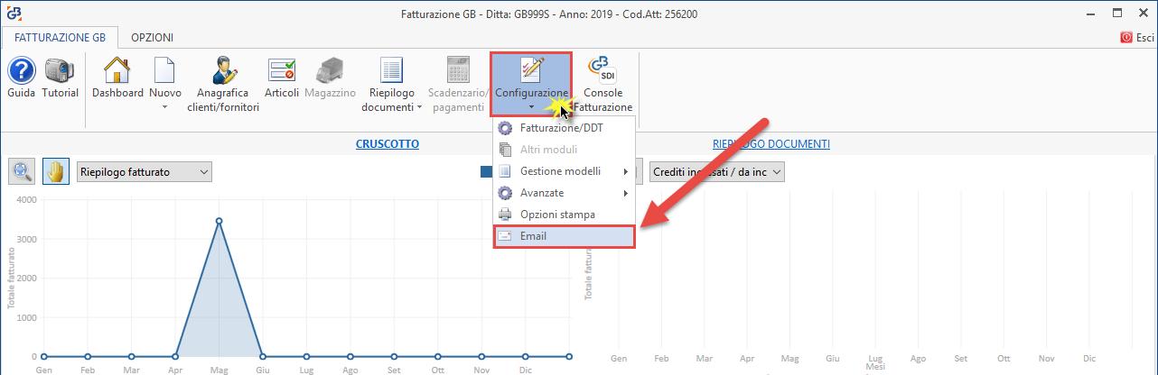 Fatture: invio documenti tramite e-mail - 2