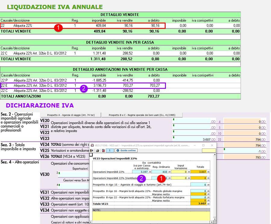 """Regime """"Iva per cassa"""": compilazione Dichiarazione Iva - 2"""