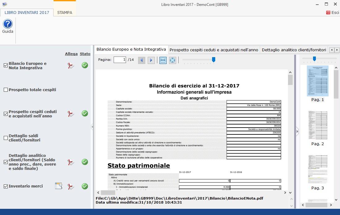 87bf6bb0e8 Libro Inventari 2017: stampa - News - INTEGRATO GB