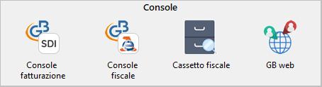Nuova Console Fatturazione/Fiscale e menu Multi ditta - 2