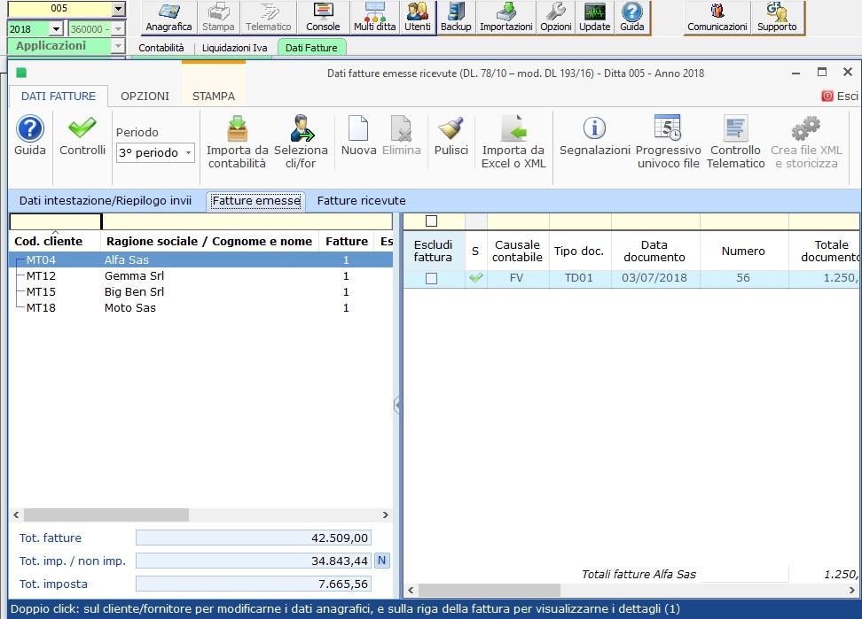 Caso pratico: Saldi di bilancio al 30/06 e parziale tenuta della contabilità - 2