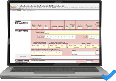 L'applicazione Redditi Società di Capitali, area Dichiarazioni Fiscali, nel software per commercialisti INTEGRATO GB
