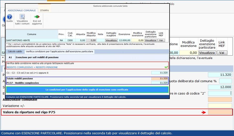 Addizionale comunale 2019: esenzioni particolari - 3