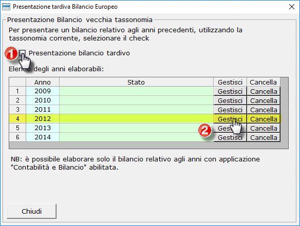 Bilanci Tardivi 2009-2014: disponibile applicazione - 3