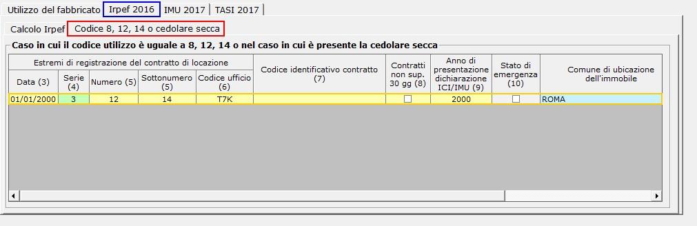Calcolo cedolare secca sugli affitti 2017 integrato gb for Cedolare secca calcolo