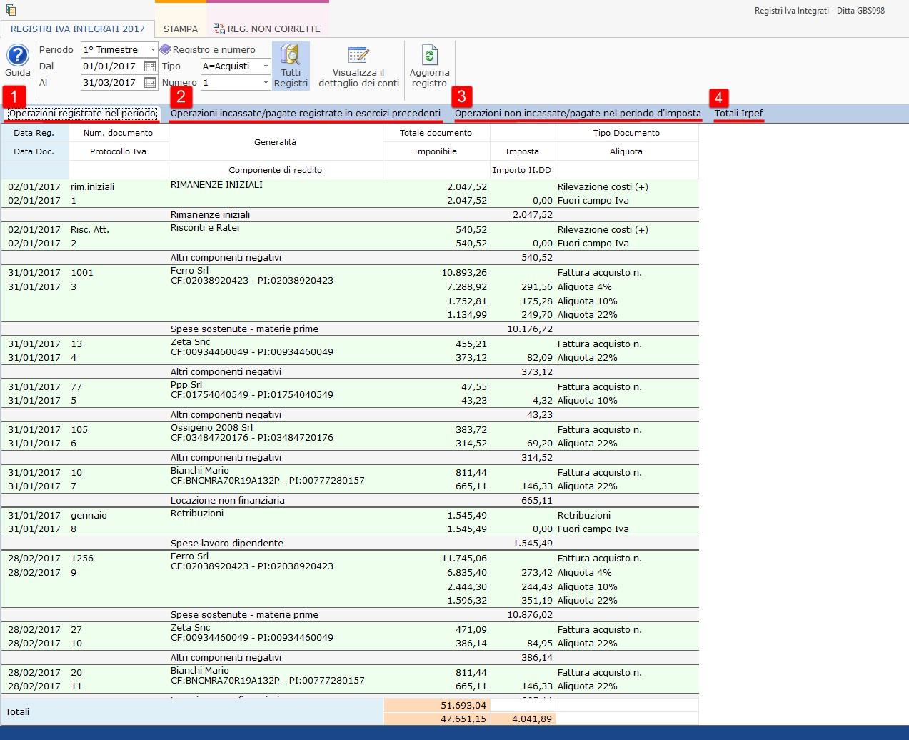 Contabilità Semplificata: Registri IVA integrati - 3