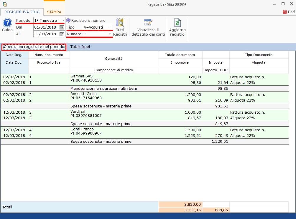 Contabilità Semplificata: Registri IVA senza separata indicazione incassi e pagamenti - 3